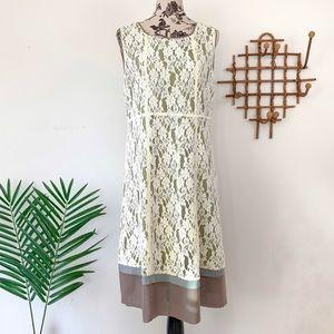 Sundance Silk Blend Lace Sheath Dress